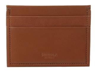 Shinola Detroit Five-Pocket Card Case