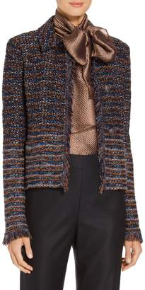 St. John Ombre Ribbon Knit Jacket