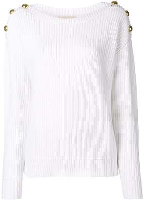 MICHAEL Michael Kors button detail sweater