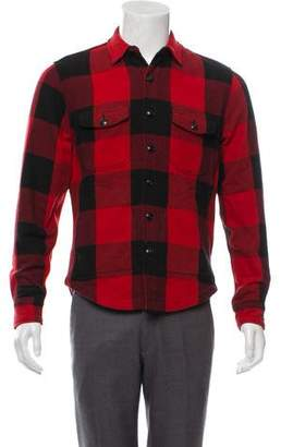 Buffalo David Bitton Hiroshi Kato Plaid Shirt Jacket