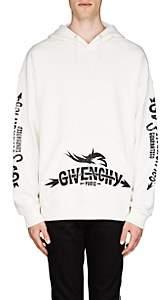 Givenchy Men's Tour-Print Cotton French Terry Hoodie - White