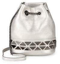 Vince Camuto Triangle Chain Bucket Bag