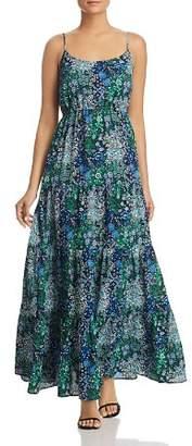 MICHAEL Michael Kors Paisley-Print Tiered Maxi Dress