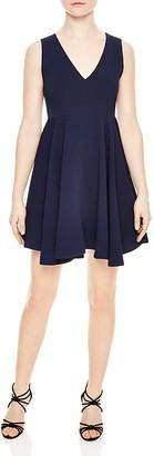 Sandro Paris Fit-and-Flare Dress $395 thestylecure.com