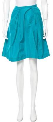 Miu Miu A-Line Knee-Length Skirt