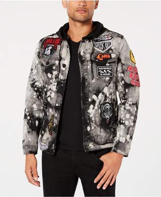 Reason Men's Crushers Hooded Denim Jacket