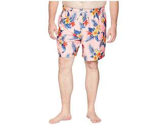 Nautica Big Tall Hibiscus Floral Trunk Men's Swimwear