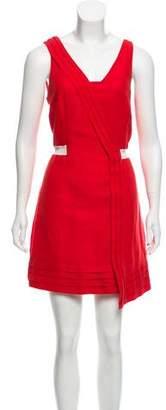Rag & Bone Linen Knee- Length Dress