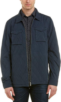 Scotch & Soda Classic Quilted Shirt Jacket