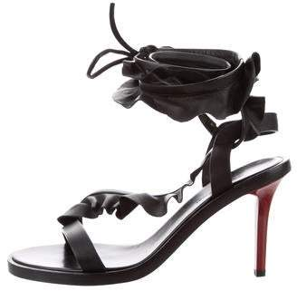 Isabel Marant Leather Lace-Up Sandals w/ Tags