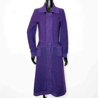 Christian Dior Purple Wool Knitwear