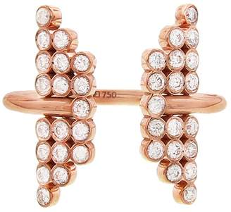 Yannis Sergakis Adornments Charnières Open Diamond Ring - Rose Gold