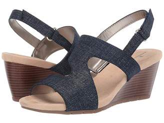 d685cfa0df13 Bandolino Wedge Heel Women s Sandals - ShopStyle