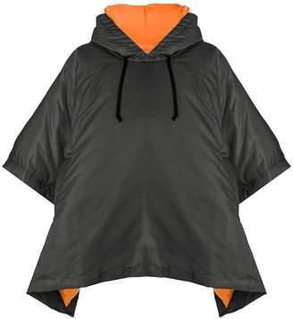 Comme des Garcons short-sleeve hooded jacket