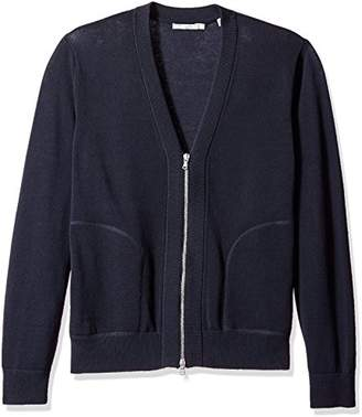 Vince Men's Zip Front Cardigan