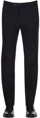 Pt01 18cm Slim Fit Stretch Cotton Pants