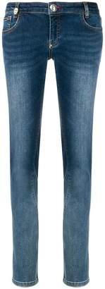 Philipp Plein skinny faded jeans