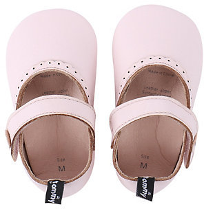 Baby Girl Tommy Tickle Perforated Mary-Jane Crib Shoes $22 thestylecure.com