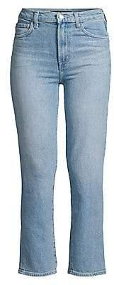 J Brand Women's Jules High-Rise Straight-Leg Jeans