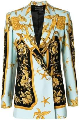Versace Tresor de la Mer baroque blazer