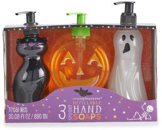 Simple Pleasures Refillable Spooky Hand Soap 3-Pack