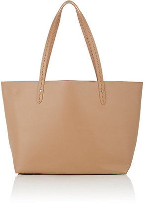 Barneys New York BARNEYS NEW YORK WOMEN'S OPEN-TOP TOTE BAG-NUDE $200 thestylecure.com