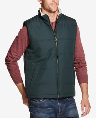 Weatherproof Vintage Men's Quilted Fleece-Lined Vest