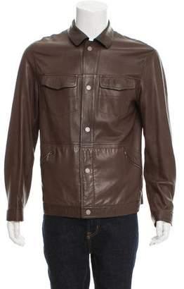 Zegna Sport Reversible Leather Jacket
