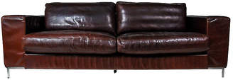 One Kings Lane Vintage Danish Dux Brown Leather Sofa