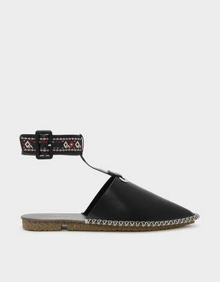 Charles & Keith Ankle Strap Flats