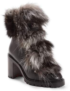 Christian Louboutin Fanny Genuine Fox Fur Boot