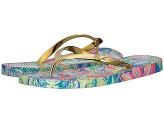 Lilly Pulitzer Pool Flip-Flop Women's Slide Shoes