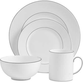 Vera Wang Wedgwood Dinnerware, Blanc Sur Blanc 4-Pc. Place Setting
