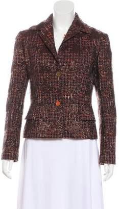 Dolce & Gabbana Bouclé Virgin Wool Jacket