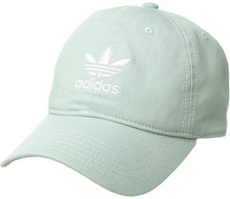77f2421d17f at Zappos · adidas Originals Relaxed Strapback Cap Caps