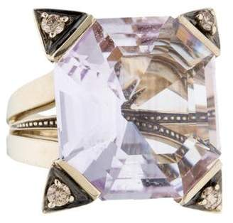 H.Stern Amethyst & Diamond Highlight Stars Ring