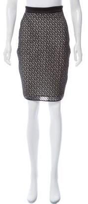 Reiss Knee-Length Lace Skirt