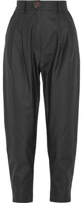 Awake Cropped Cotton-Voile Tapered Pants