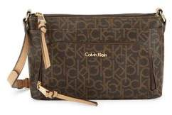 Calvin Klein Classic Faux Leather Crossbody Bag