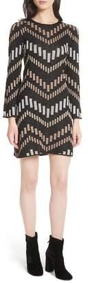 Ted Baker Reels Bell Sleeve Knit Dress
