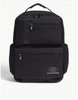 Samsonite Openroad nylon briefcase $142 thestylecure.com