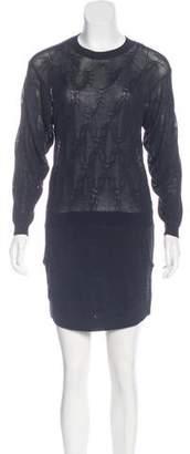 Theyskens' Theory Silk Knit Dress