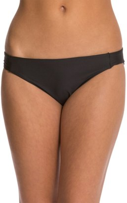 Luxe by Lisa Vogel Premiere Solid Tab Side Bikini Bottom 8121233 $29 thestylecure.com
