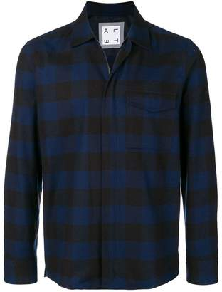 Altea plaid shirt jacket