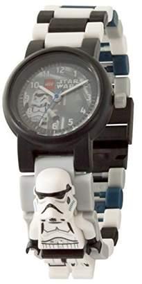 Lego Star Wars 8021025 The Last Jedi Stormtrooper Kids Minifigure Link Buildable Watch | /blue| plastic | 28mm case diameter| analogue quartz | boy girl | official