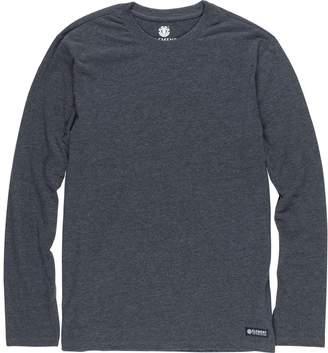 Element Basic Crew Long Sleeved Tshirt - Charcoal Heather XL