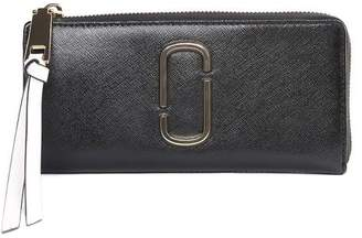 Marc Jacobs Snapshot Color-block Saffiano-leather Wallet
