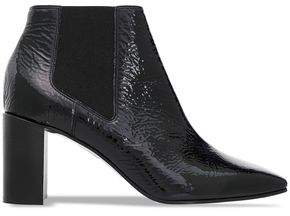 Rag & Bone Crinkle Patent-leather Ankle Boots