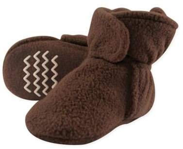 Fleece Scooties Sock in Brown
