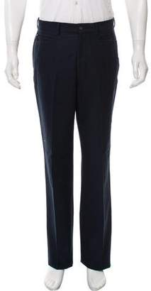 Versace Flat Front Woven Pants